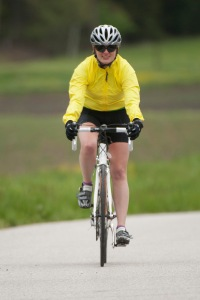 This is right before the last huge hill.  I can't believe i look so happy after 75 miles!